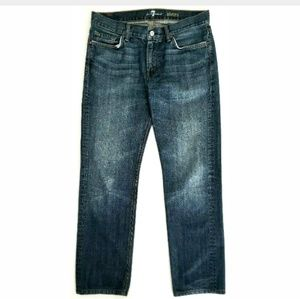 7 For All Mankind Mens Jeans Size 34 Slimmy USA
